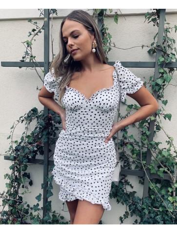 Carla white dress