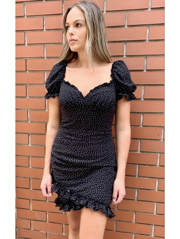 Carla black dress