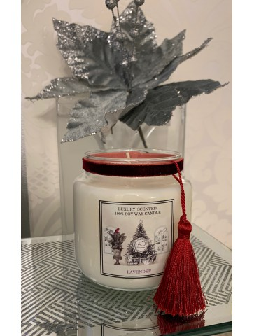 Natural Soy Candle Lavender