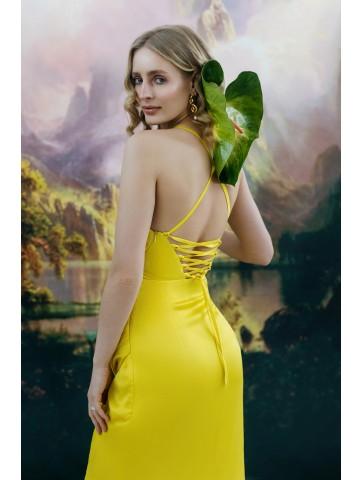 Sukienka z wiązaniem na...