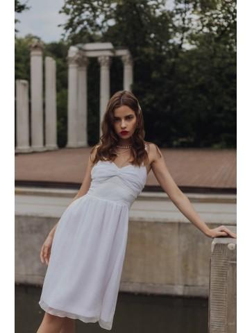 Sukienka z kreszowanego...